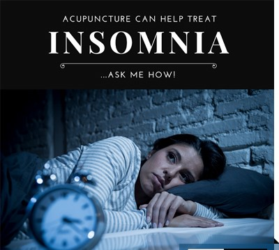 insomnia relief with acupuncture