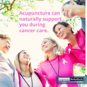 Cancer care acupuncture