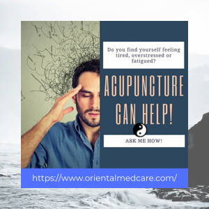 stress relief with acupuncture
