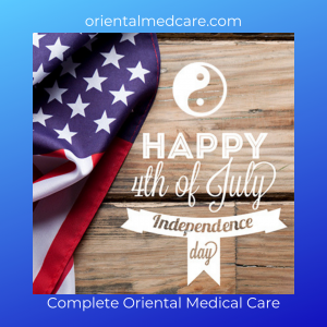 Happy 4th of July acupuncure